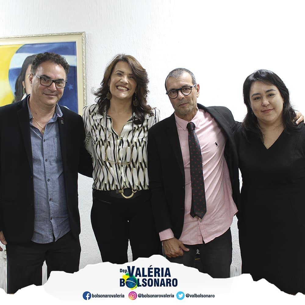 Recebi em meu gabinete visita do diretor da Unicamp Orival Andreis Júnior