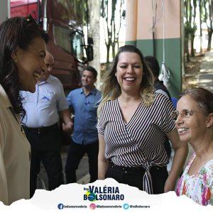 Carreta do Hospital de Amor para a realização de mamografias município de Pedreira