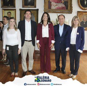 Na Santa Casa de Campinas, visita de líderes de hospitais para tratar das principais necessidades da área da saúde no município de Campinas.