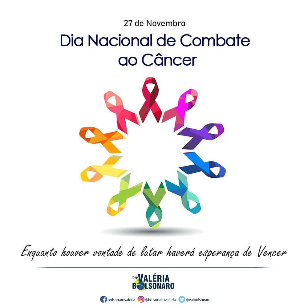 Dia Nacional de Combate ao Câncer.