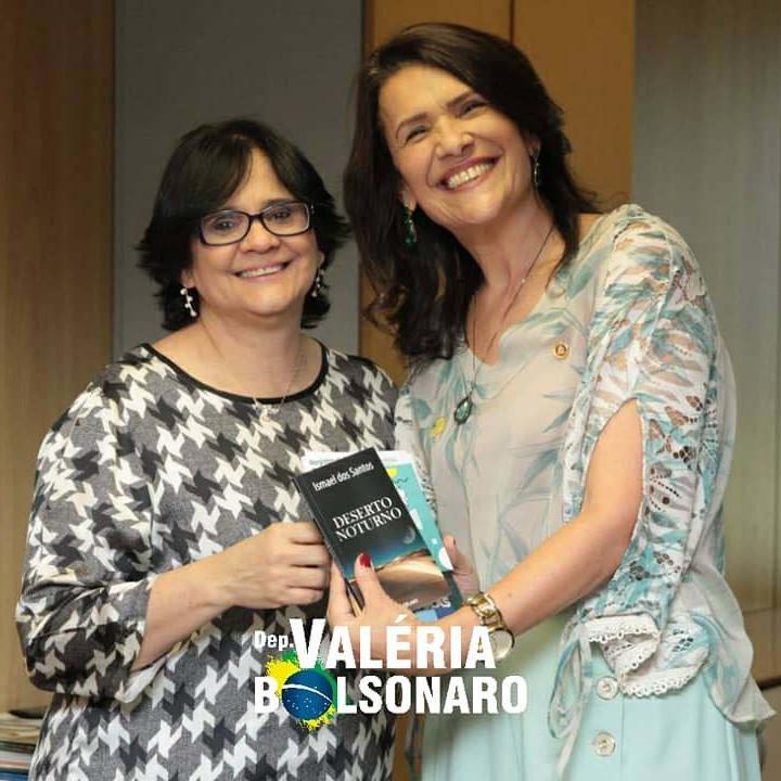 Trabalhando Junto com a Ministra Damares Alves