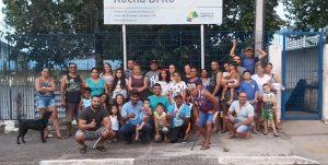 Pais de alunos e comunidade do São Domingos fazem manifestação em favor da democracia, no processo de escolha sobre Escola Cívico Militar em Campinas