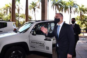 Governo entrega veículos a ouvidorias do Sistema Único de Segurança Pública