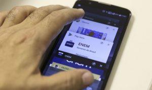 Simulado oficial do Enem já está disponível no aplicativo