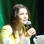 Deputada Valéria Bolsonaro participa do 1º Simpósio Conservador do Alto Tietê