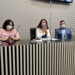 Ministra Damares e Deputada Valéria Bolsonaro reúnem-se com vereadores de diversos municípios do Estado para tratar da Frente Parlamentar de Defesa dos Direitos da Pessoa com Deficiência e Doenças Raras