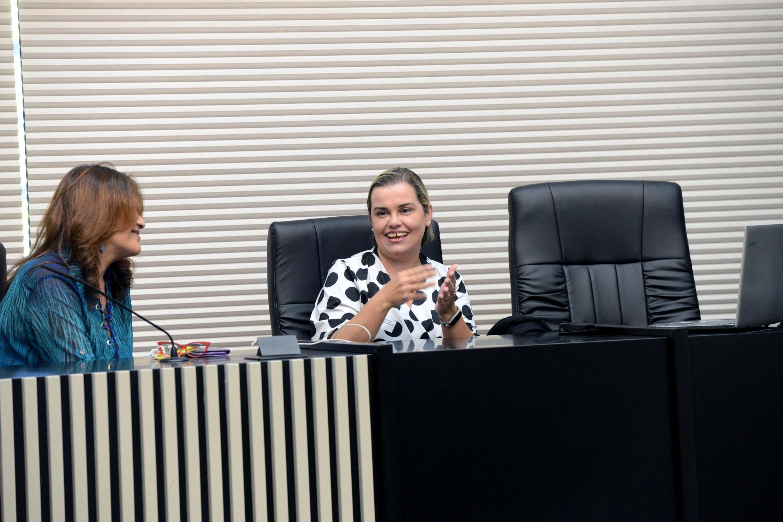 Frente Parlamentar: Deputada Valéria Bolsonaro participa de audiência com Secretária Nacional dos Direitos da Pessoa Com Deficiência, Priscilla Gaspar