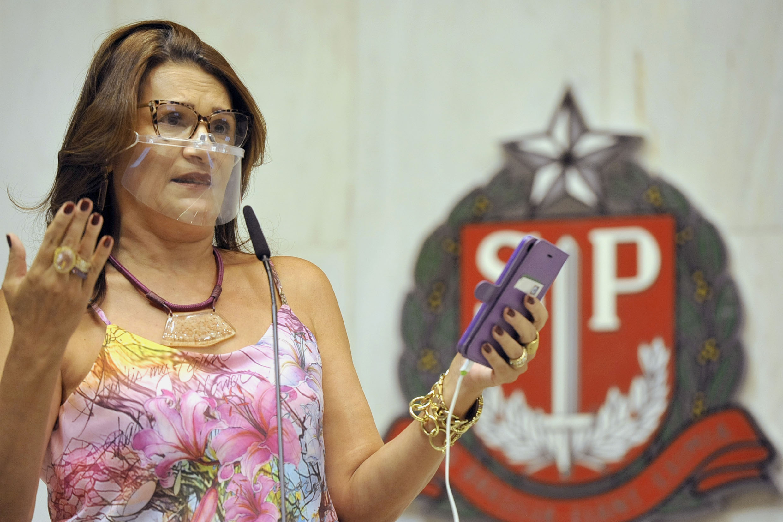 Deputada Valéria Bolsonaro desmente Governador Doria sobre redução de impostos